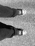 Feet - on Toronto Island