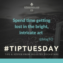 #TipTuesday Twitter Campaign for teb Interiors