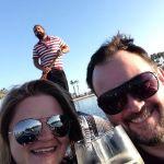 Geoff and Jody on a gondola