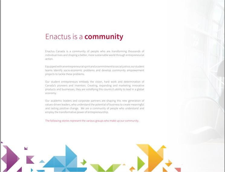 Enactus Canada 2012-2013 3
