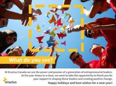 2014 Enactus Holiday Message