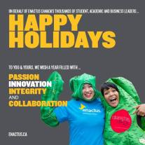 2015 Enactus Holiday Message