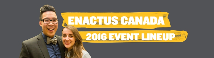 Enactus Canada Event LineUp